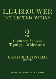 L. E. J. Brouwer Collected Works - 1st Edition - ISBN: 9780444106438, 9781483257549