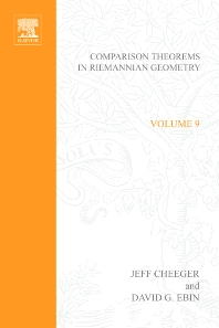 Comparison Theorems in Riemannian Geometry - 1st Edition - ISBN: 9780444107640
