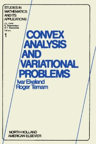 Cover image for Convex analysis and variational problems