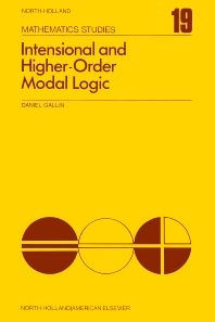 Intensional and Higher-Order Modal Logic - 1st Edition - ISBN: 9780444110022, 9780080871301
