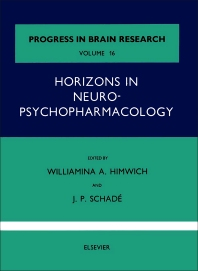 Cover image for Horizons in Neuropsychopharmacology