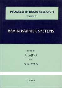 Brain Barrier Systems - 1st Edition - ISBN: 9780444403520, 9780080861548