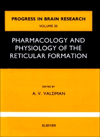 Cover image for Pharmacology and physiology of thereticular Formation