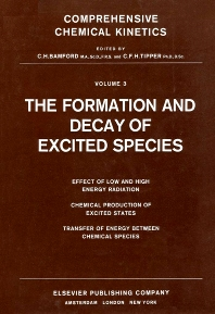 Cover image for The Formation and Decay of Excited Species