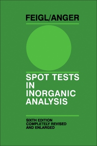 Cover image for Spot Tests in Inorganic Analysis