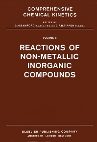 Cover image for Reactions of Non-Metallic Inorganic Compounds