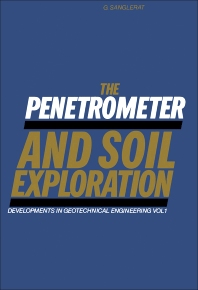 The Penetrometer and Soil Exploration - 1st Edition - ISBN: 9780444409768, 9780444599360