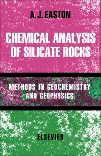 Cover image for Chemical Analysis Of Silicate Rocks