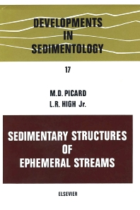 Cover image for Sedimentary structures of ephemeral streams
