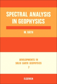 Cover image for Spectral Analysis in Geophysics