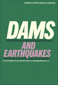 Dams and Earthquakes - 1st Edition - ISBN: 9780444413307, 9780444600554