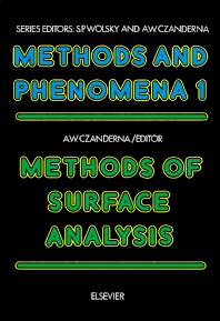 Cover image for Methods of Surface Analysis