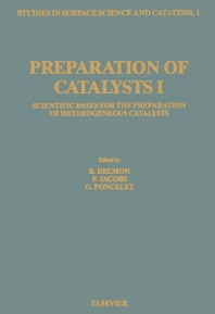 Cover image for Preparation of Catalysts I
