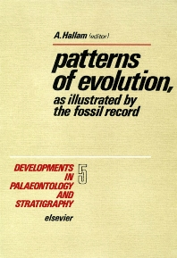 Cover image for Patterns of evolution, as illustrated by the fossil record