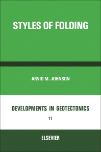 Styles Of Folding  - 1st Edition - ISBN: 9780444414960, 9780444601438
