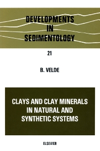 Cover image for Clays and Clay Minerals in Natural and Synthetic Systems