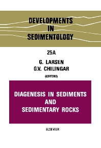 Cover image for Diagenesis in sediments and sedimentary rocks
