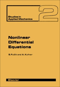 Cover image for Nonlinear Differential Equations