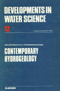 Cover image for Contemporary Hydrogeology