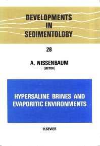 Cover image for Hypersaline Brines and Evaporitic Environments
