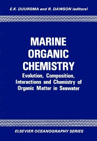 Cover image for Marine Organic Chemistry