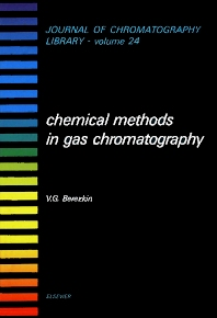 Cover image for Chemical Methods in Gas Chromatography