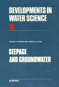 Cover image for Seepage and Groundwater