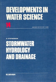 Stormwater Hydrology and Drainage - 1st Edition - ISBN: 9780444419989, 9780080870052