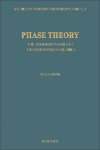 Phase Theory - 1st Edition - ISBN: 9780444420190, 9780444599339