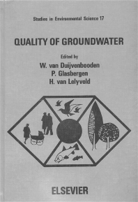 Cover image for Quality of Groundwater