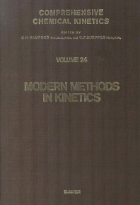 Cover image for Modern Methods in Kinetics