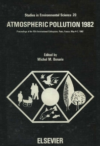 Atmospheric Pollution 1982 - 1st Edition - ISBN: 9780444420831, 9780080874791