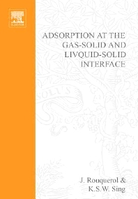 Cover image for Adsorption at the Gas-Solid and Liquid-Solid Interface