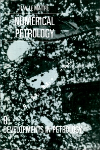 Numerical Petrology - 1st Edition - ISBN: 9780444420985, 9781483289748