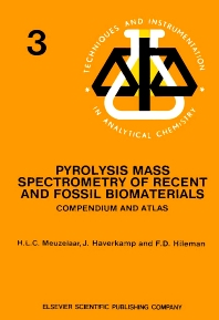 Cover image for Pyrolysis Mass Spectrometry of Recent and Fossil Biomaterials