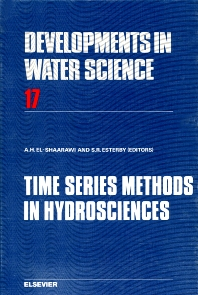 Time Series Methods in Hydrosciences - 1st Edition - ISBN: 9780444421029, 9780080870083