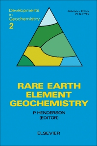 Rare Earth Element Geochemistry - 1st Edition - ISBN: 9780444421487, 9781483289779