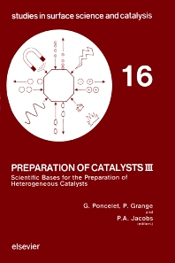 Preparation of Catalysts III - 1st Edition - ISBN: 9780444421845, 9780080960517