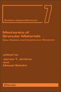 Cover image for Mechanics of Granular Materials