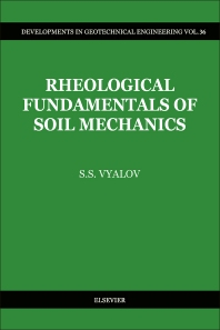 Cover image for Rheological Fundamentals of Soil Mechanics