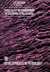 Cover image for Shale-Slate Metamorphism in Southern Appalachians
