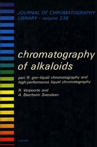 Chromatography of Alkoloids, Part B - 1st Edition - ISBN: 9780444422651, 9780080858265