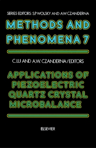 Cover image for Applications of Piezoelectric Quartz Crystal Microbalances