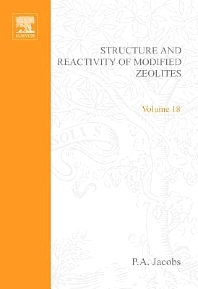 Structure and Reactivity of Modified Zeolites - 1st Edition - ISBN: 9780444423511, 9780080960524
