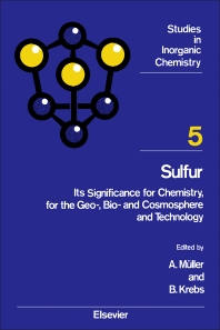 Sulfur - 1st Edition - ISBN: 9780444423559, 9781483289892
