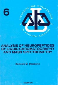 Cover image for Analysis of Neuropeptides by Liquid Chromatography and Mass Spectrometry