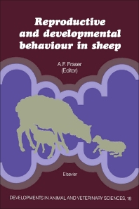 Cover image for Reproductive and Developmental Behaviour in Sheep