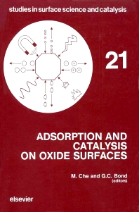 Cover image for Adsorption and Catalysis on Oxide Surfaces