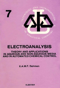 Electroanalysis - 1st Edition - ISBN: 9780444425348, 9780080875552