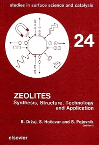 Cover image for Zeolites
